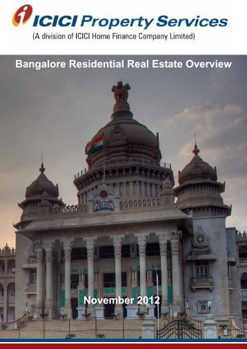 Bangalore Report - ICICI Home Finance