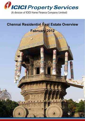 Chennai Residential Real Estate Overview February 2012