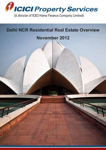 Delhi Report - ICICI Home Finance