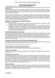 Febuxostat - ICID - Salisbury NHS Foundation Trust