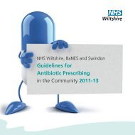 Guidelines for Antibiotic Prescribing in the Community 2011-13