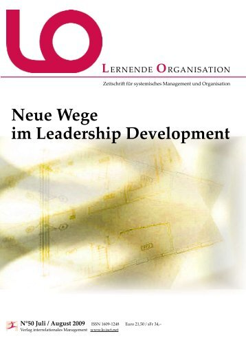 Neue Wege im Leadership Development