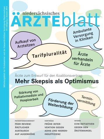 """Die aktuelle Ausgabe als PDF - Hannoversche Ã""""rzte-Verlags-Union"""