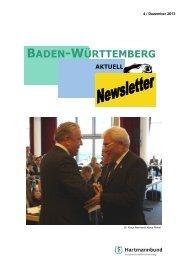 BADEN-WÃœRTTEMBERG - Hartmannbund
