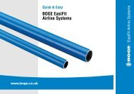 BOGE Easifit Airline Systems