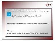 Brandschutz in der Gebäudetechnik 11 - Brandschutz Planung ...