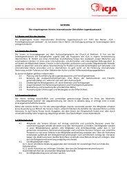 Satzung - ICJA Freiwilligenaustausch weltweit e.V.