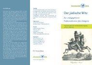 Flyer zur Tagung mit dem Programm - Freie Universität Berlin