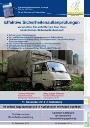 Effektive Sicherheiten außenprüfungen - Finanz Colloquium ...