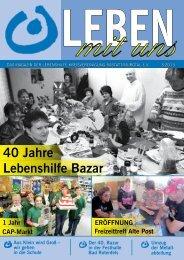 40 Jahre Lebenshilfe Bazar - Lebenshilfe Rastatt Murgtal