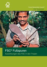 FSC Fußspuren PDF, Size: 5,29 MB Added - FSC-Deutschland