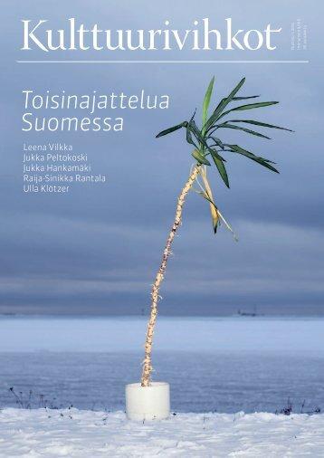 Toisinajattelua Suomessa - Kulttuurivihkot