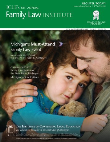 Must-Attend Family Law Event - Institute of Continuing Legal ...