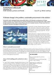 33, Winter 2008-2009 [PDF 371kb] - ICLEI Europe