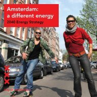 Amsterdam: a different energy - ICLEI Europe