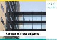 Conectando líderes en Europa - ICLEI Europe