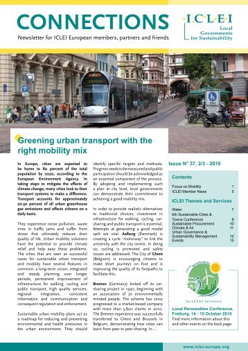 CONNECTIONS - ICLEI Europe