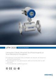 Universelles 3-Strahl-Ultraschall-Durchflussmessgerät ... - Selemark