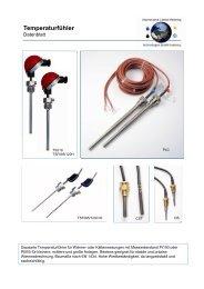 ICM-T Datenblatt Temperaturfühler - ICM Technologies / ICM ...