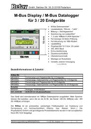 Bedienungsanleitung MR005(6)FA/DL - ICM Technologies / ICM ...