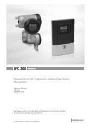 IFC 300 Handbuch - ICM Technologies / ICM Technologies