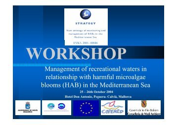 Harmful Algae Monitoring Programme in Greek coastal waters