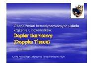 Dopler tkankowy - ICM