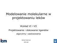 Wykład VI - ICM