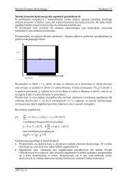 Jest wiele sposobów dojścia do sformułowania metody ... - ICM