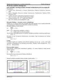 Numeryczna prognoza pogody - ICM