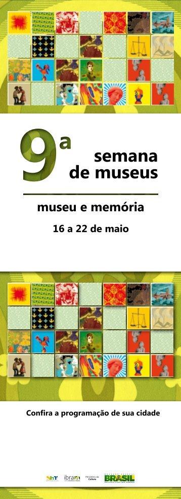 semana de museus - ICMBio