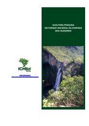 Guia de pesquisa do Parque Nacional - ICMBio