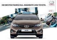Fahrschule Flyer - Toyota Schweiz