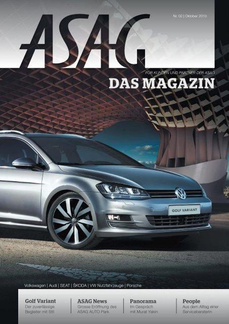 ASAG – Das Magazin, Nr. 02.2013 (PDF, 8,2 MB) - WS ...