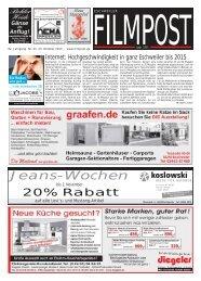 Ausgabe 43 vom 23. Oktober 2013 - auf filmpost.de