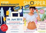 Sommer Sonne Strand! - Shopping Horn