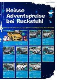 Heisse Adventspreise bei Ruckstuhl - Ruckstuhl Garagen
