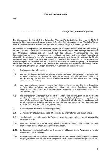 Beste Vorlage Für Gegenseitige Vertraulichkeitsvereinbarung Fotos ...