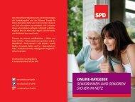 online-ratgeber Seniorinnen und Senioren Sicher im netz - iRights.info