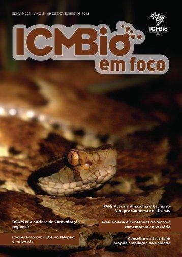 1 Edição 221 Acaú-Goiana e Contendas do Sincorá ... - ICMBio