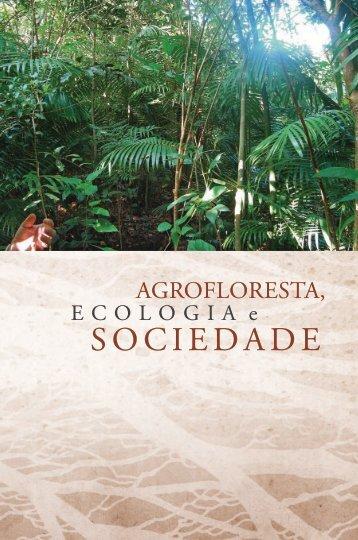 livro AGROFLORESTA, ECOLOGIA E SOCIEDADE - ICMBio
