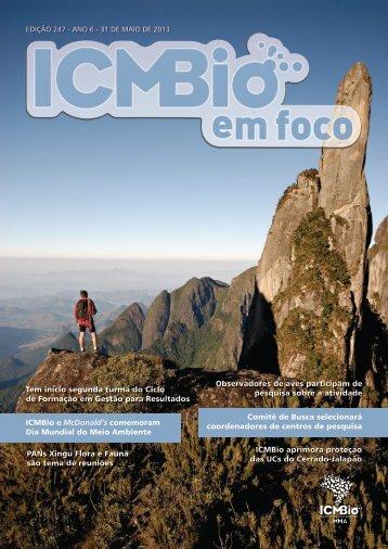 1 Edição 247 Comitê de Busca selecionará coordenadores ... - ICMBio
