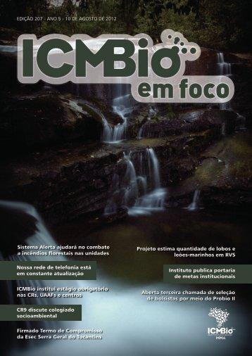 1 Edição 207 Instituto publica portaria de metas ... - ICMBio
