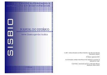Manual do Usuário - ICMBio