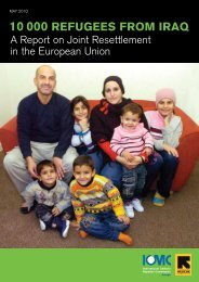 Report on Joint Resettlement in the EU - European Council on ...