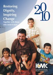 Annual Report 2010 - ICMC