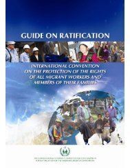 Guide on ratification of the Migrant Workers Convention