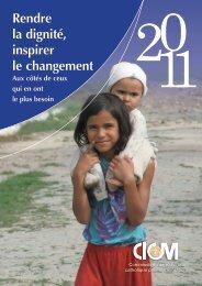 Rendre la dignité, inspirer le changement - ICMC
