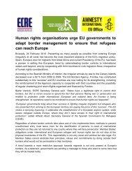 Human rights organisations urge EU governments to adapt ... - ICMC
