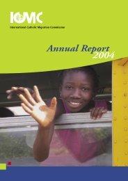 Annual Report 2004 - ICMC
